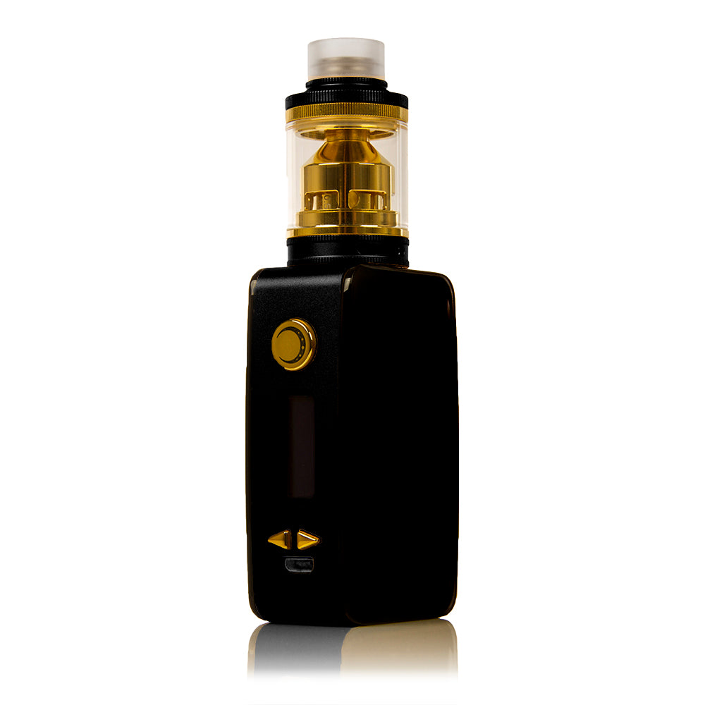 Littlefoot 60W TC Starter Kit - Black PanelBlack