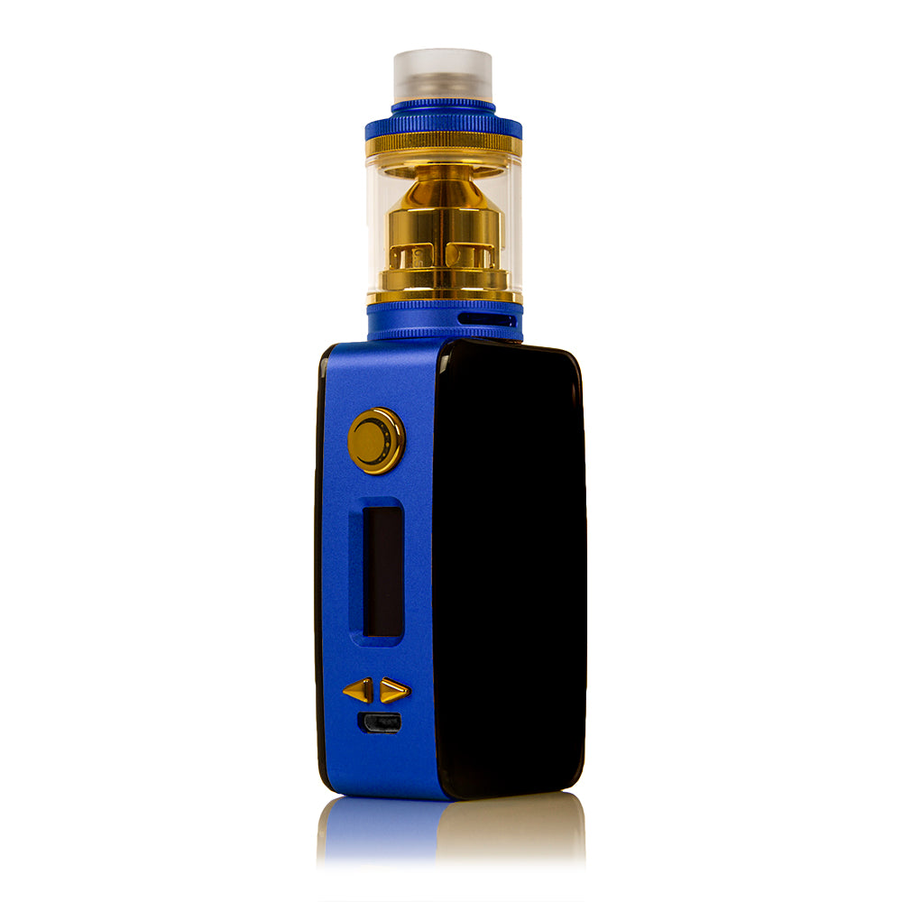Littlefoot 60W TC Starter Kit - Black Panel/Blue