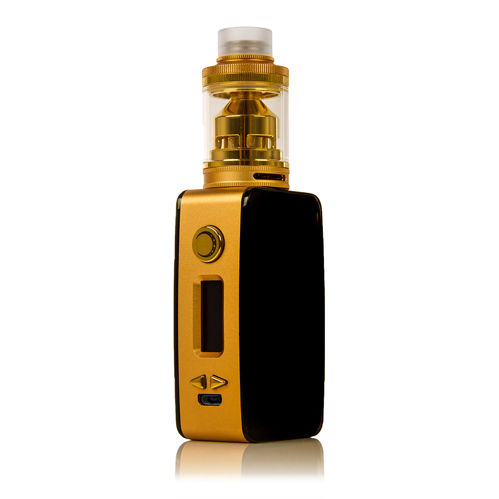 Littlefoot 60W TC Starter Kit - Black PanelGold