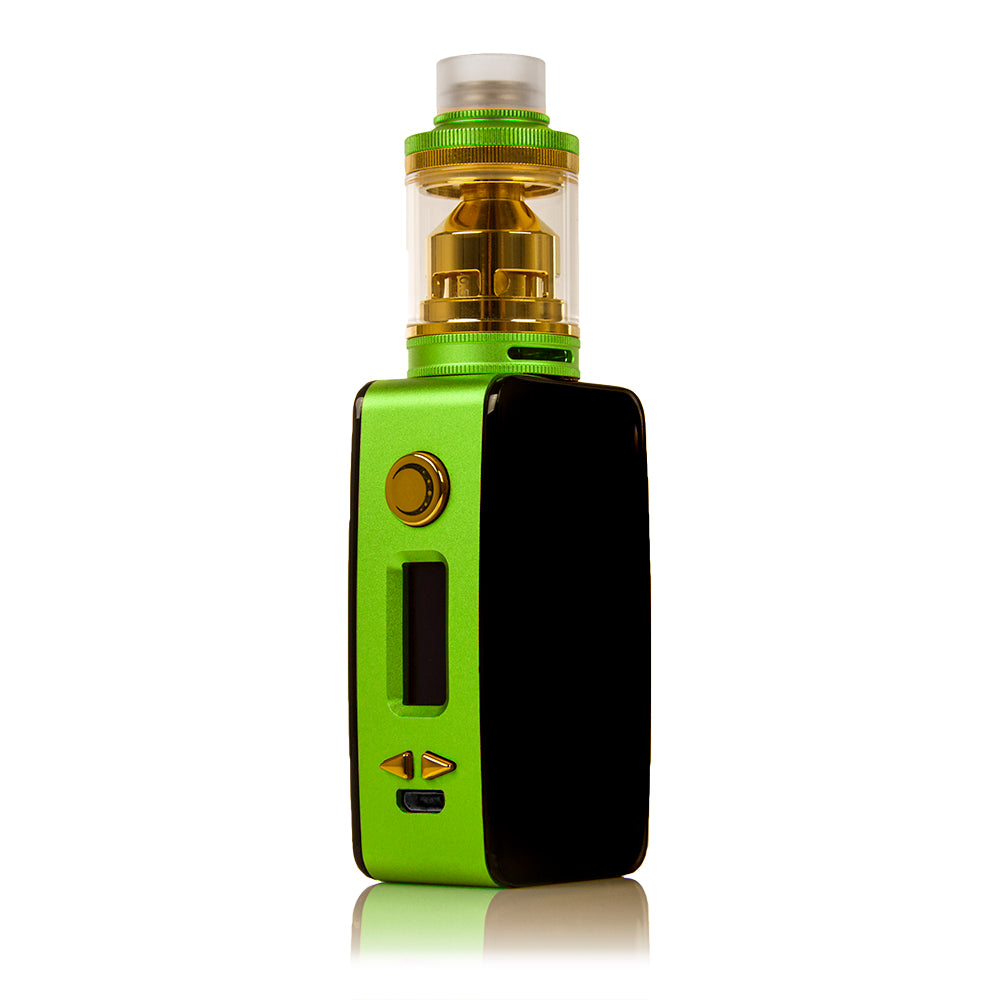 Littlefoot 60W TC Starter Kit - Black PanelGreen