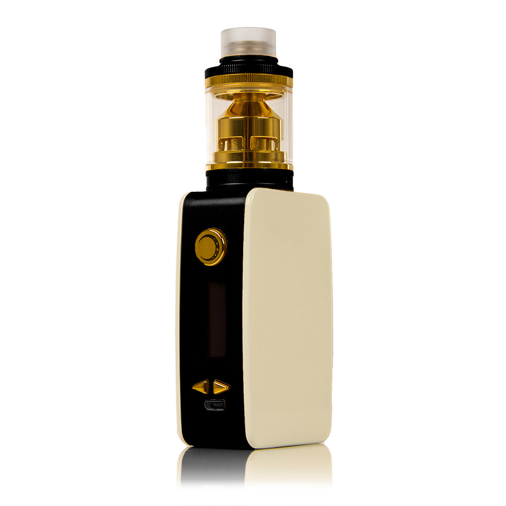 Littlefoot 60W TC Starter Kit - White Panel/Black