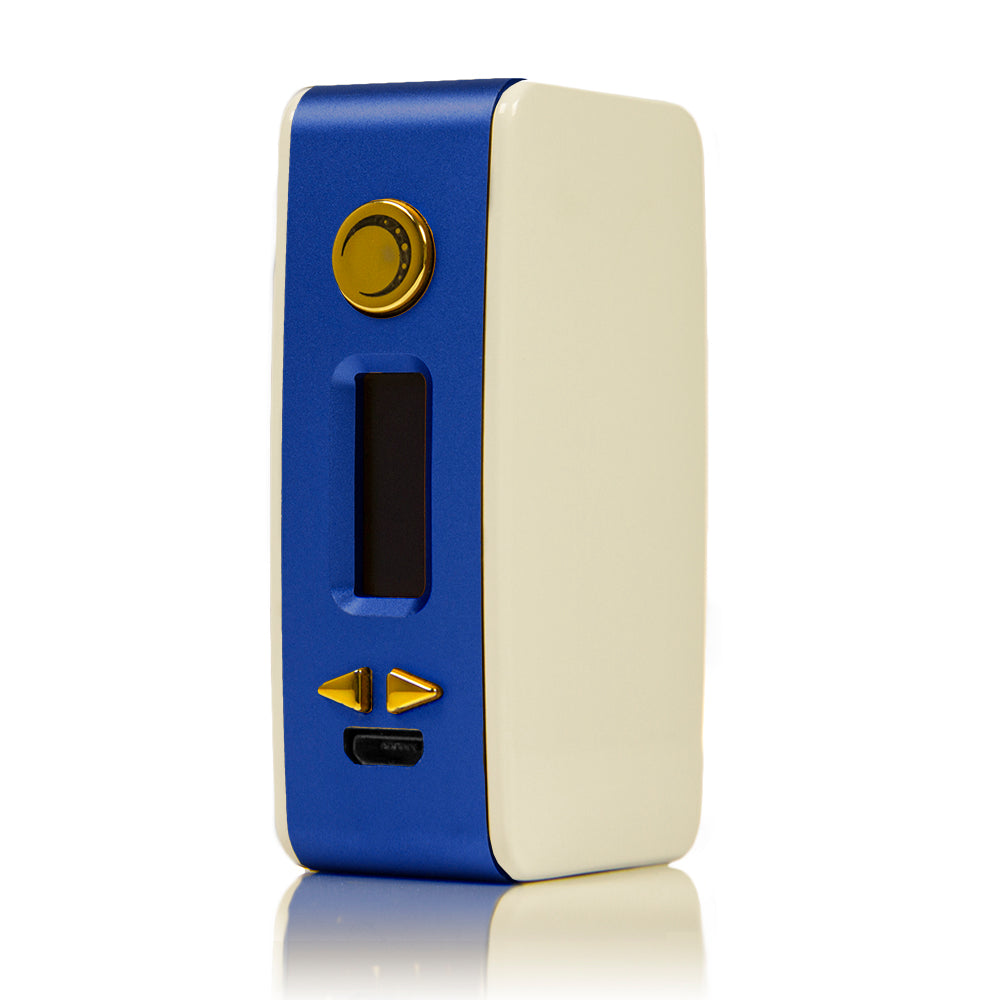 Littlefoot 60W TC Starter Kit - White PanelBlue