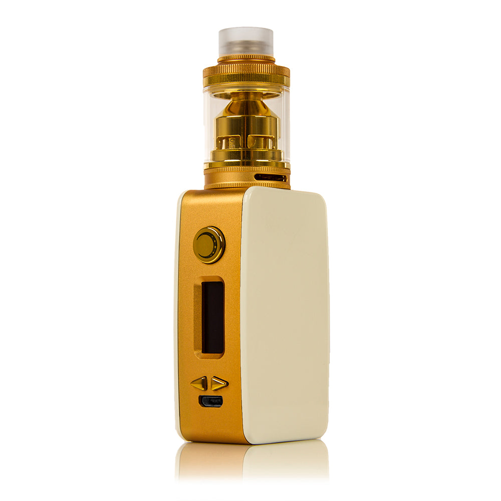 Littlefoot 60W TC Starter Kit - White PanelGold