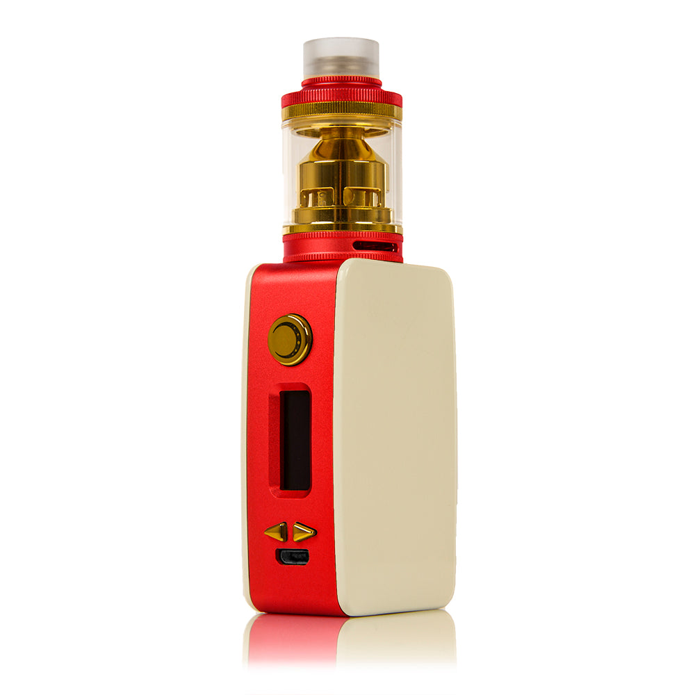 Littlefoot 60W TC Starter Kit - White PanelRed