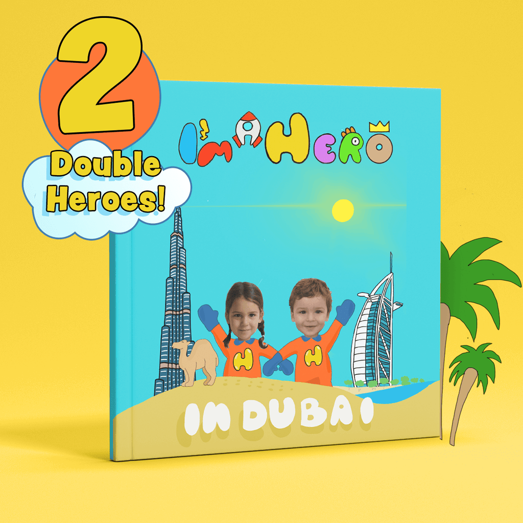 I'm a Hero in Dubai, Double Heroes (2) – Personalised Story Book