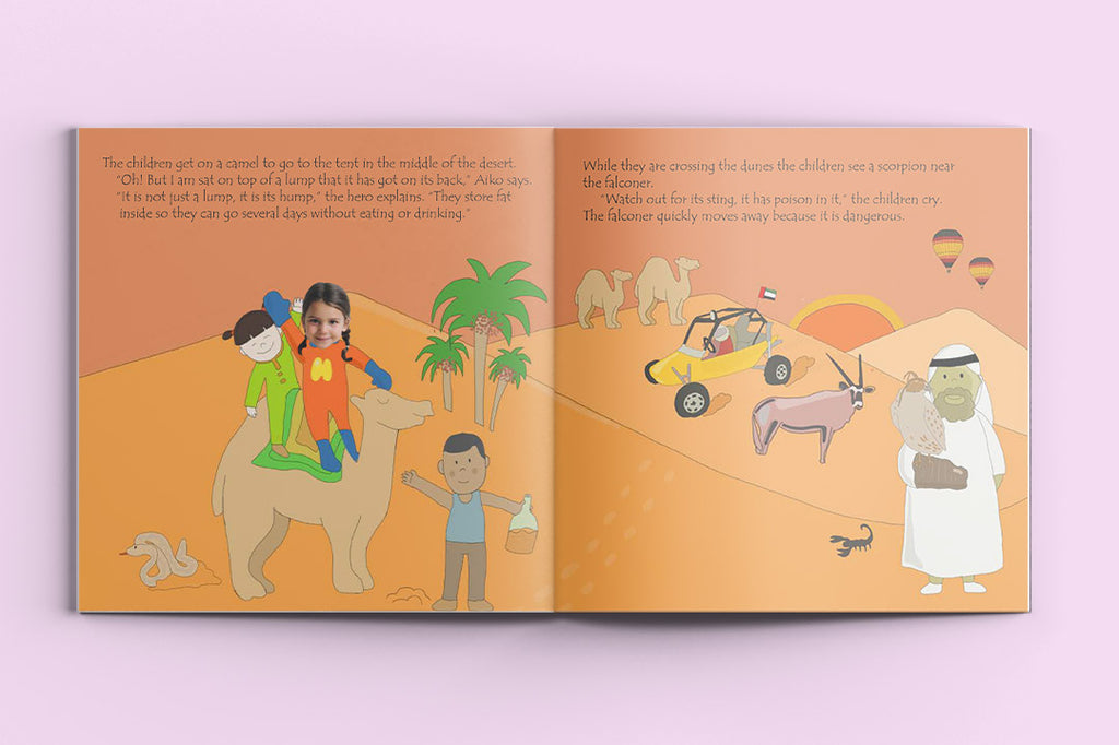 I'm a Hero in Dubai – custom children's books