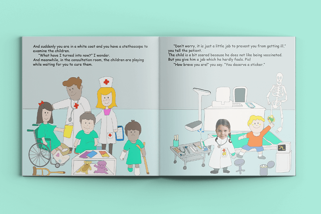I'm a Hero at Work – Personalised Story Book