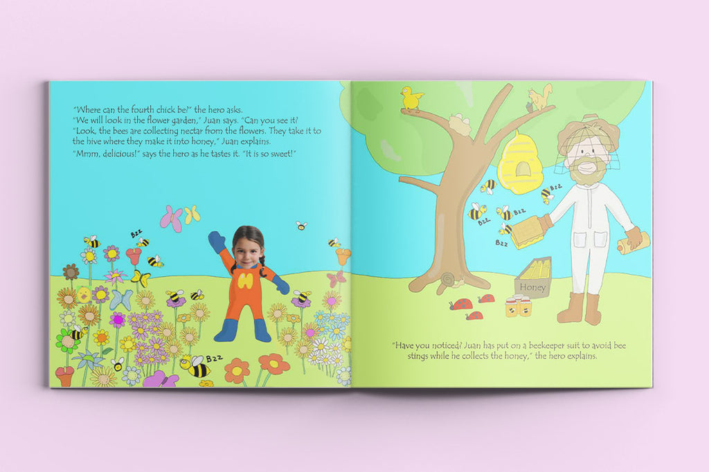 I'm a Hero in the Farm – custom children's books