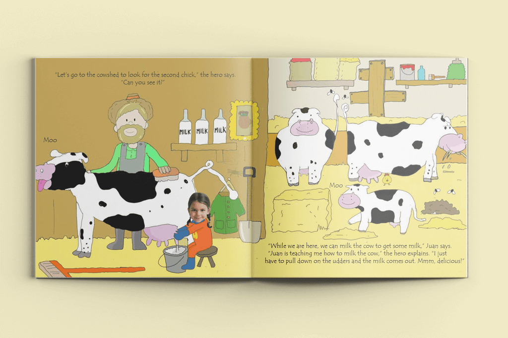 I'm a Hero on the Farm - Personalised Story Book-