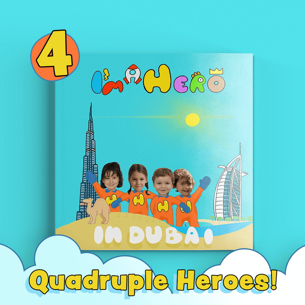 I'm a Hero – In Dubai, Quadruple Heroes (Qidz)