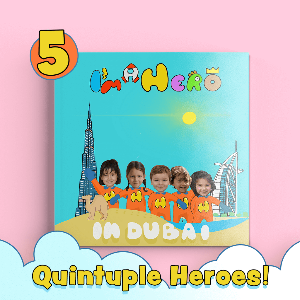 I'm a Hero – In Dubai, Quintuple Heroes (Qidz)