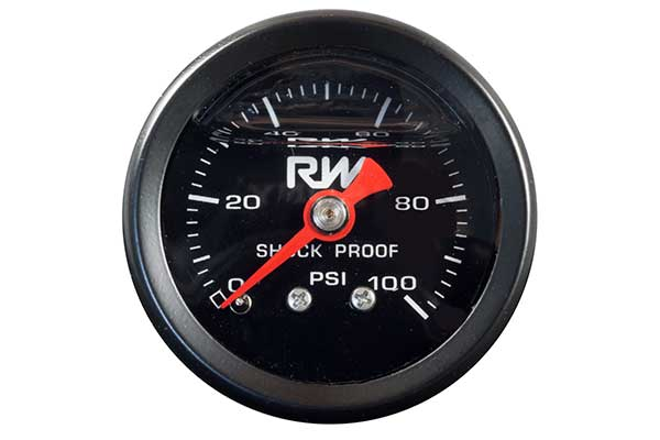 0-100PSI LIQUID FILLED PRESSURE GAUGE
