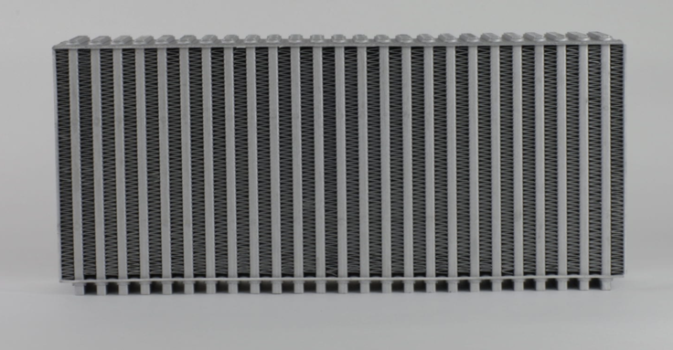 Hypertune (Round) 76mm Thick Vertical Intercooler Cores