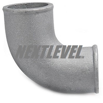 CAST ALUMINIUM ELBOW 3.25'' 90DEG