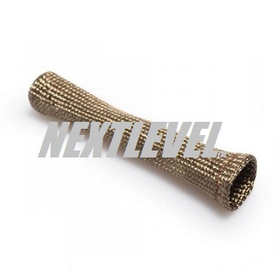 "SPARK PLUG INSULATION HEAT SLEEVE TiLAVA (980*C) 6"" LONG 1"" WIDE OPEN END INSERT RING .6"" (EACH)"