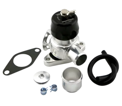 BOV Dual Port Nissan - Black