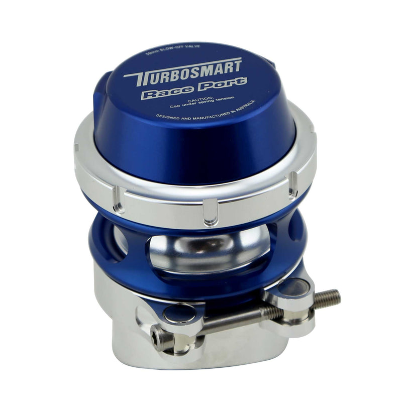 Turbosmart Race Port - Supercharged Applications - Blue