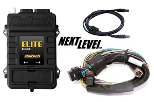 Haltech Elite 1000 ECU with basic loom