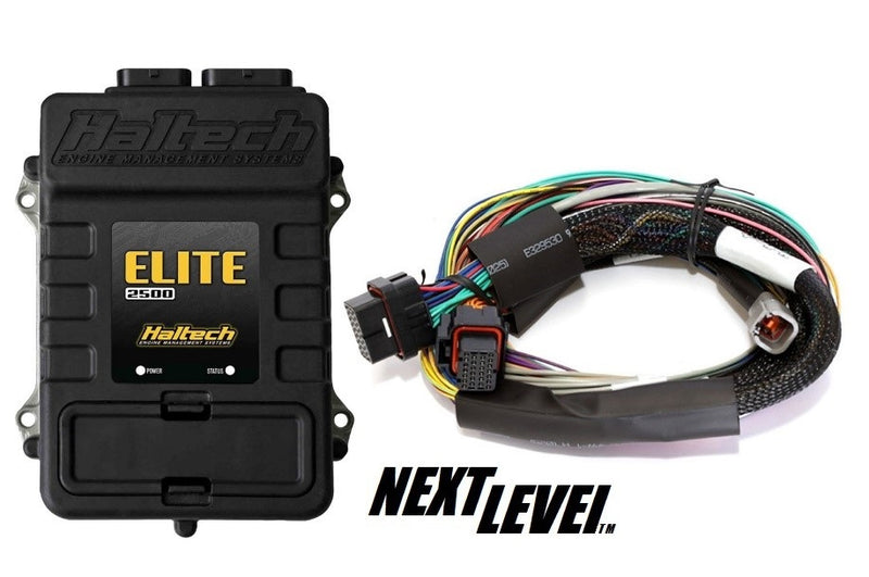 Haltech Elite 2500 ECU with basic loom