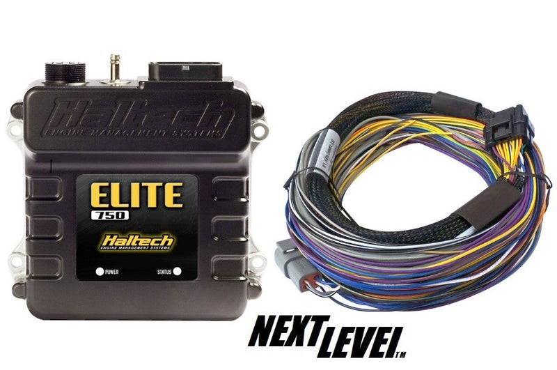 Haltech Elite 750 ECU with basic loom