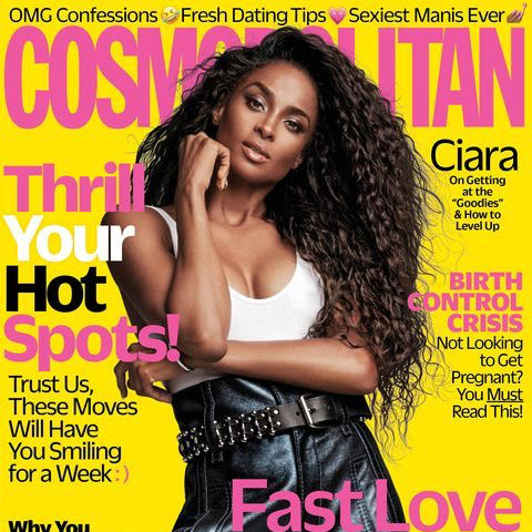 Ciara Talks Relationships and Faith With Cosmo Magazine