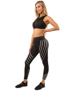 Black Laguna Athleisure Set - TWUMBAAH