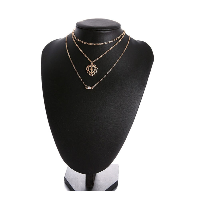 Cross Pendant Choker Necklace - Fashion Serving Christ Boutique