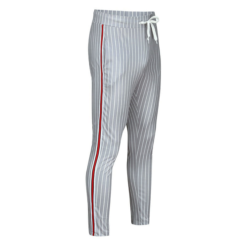 Striped Jogger Trousers - Fashion Serving Christ Boutique
