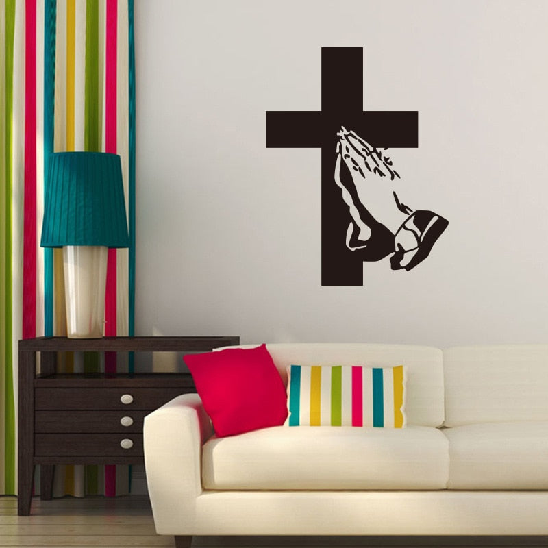 Believer Cross Wall Decal - TWUMBAAH