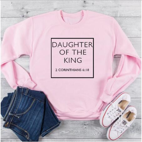 pink tee black text