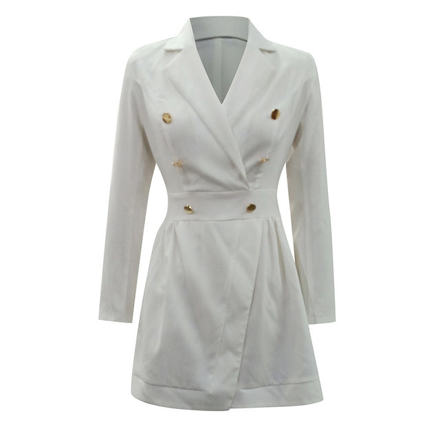 White Blazer Dress - TWUMBAAH