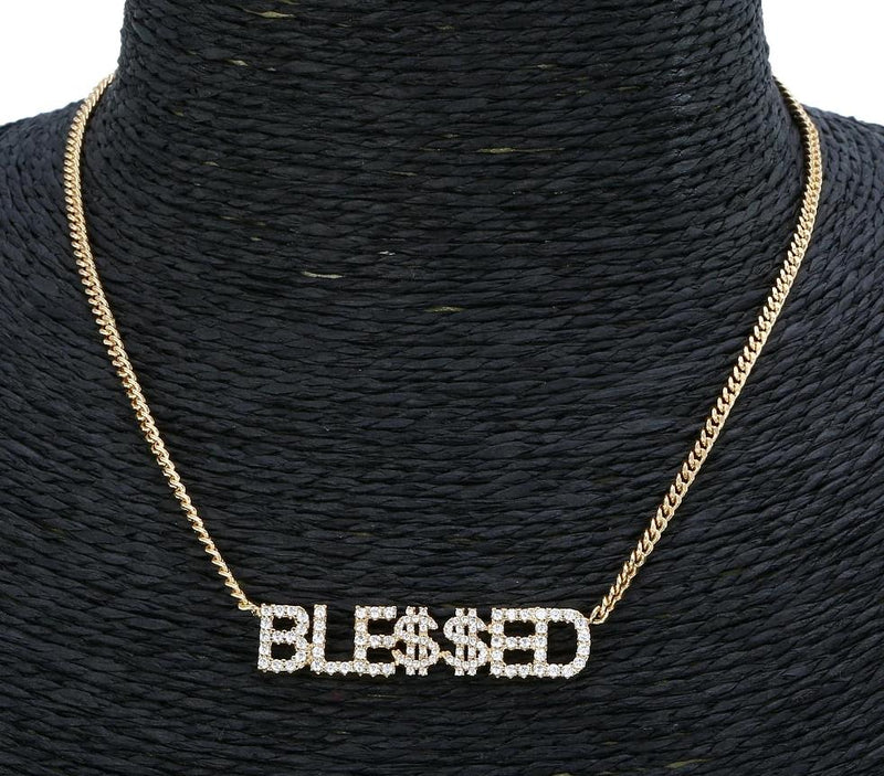 Blessed Crystal Necklace - TWUMBAAH