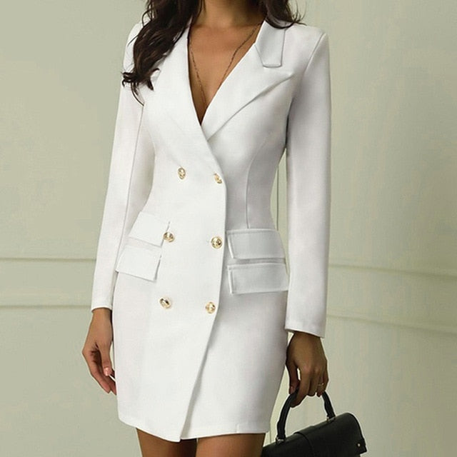 Elegant Blazer Dress