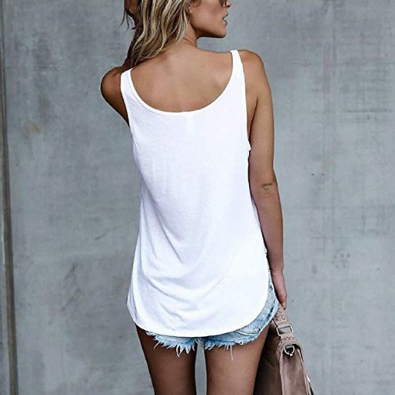 Sleeveless Feather Tank - TWUMBAAH