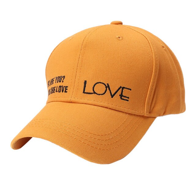 Who Are You? You Are Love Baseball Cap - Fashion Serving Christ Boutique