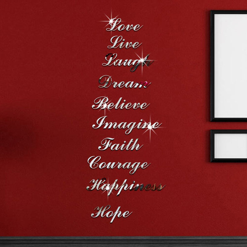 Inspiration Words Decal - TWUMBAAH