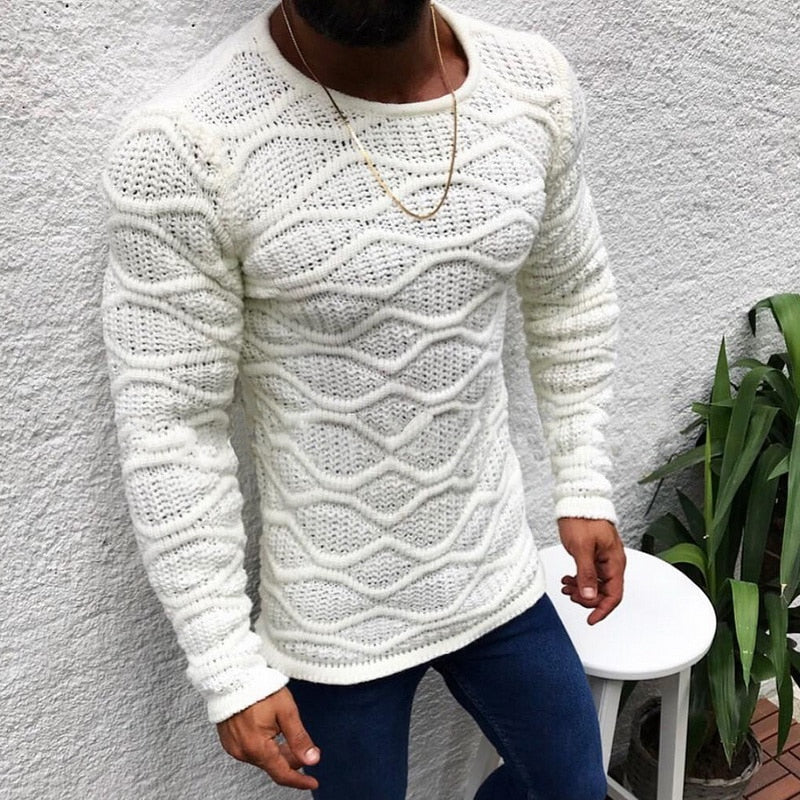 Slim Fit Knitted Pullover