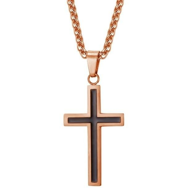 Stainless Steel Cross Pendant Necklace - Fashion Serving Christ Boutique