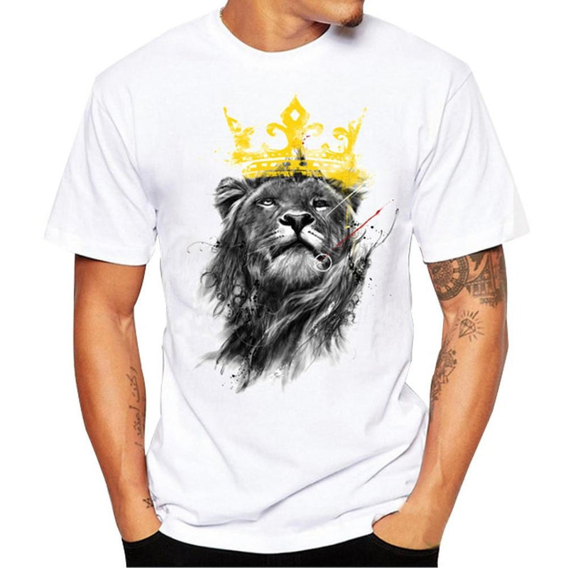 Crown Lion Tee - Fashion Serving Christ Boutique