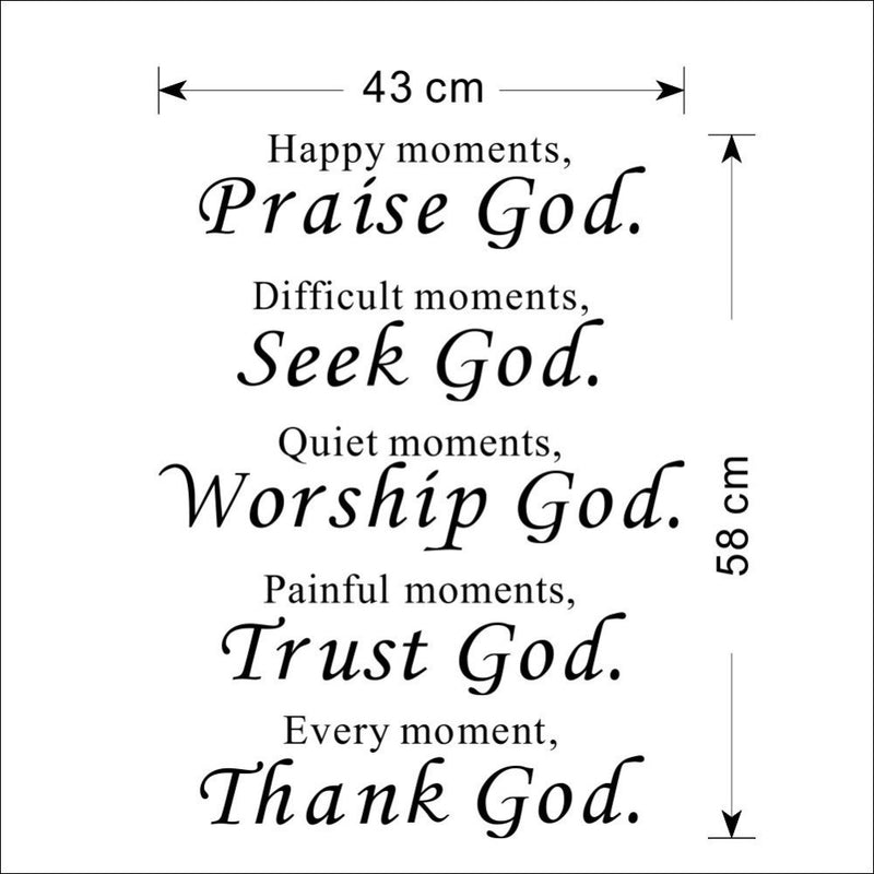 Bless Proverbs Decal - TWUMBAAH