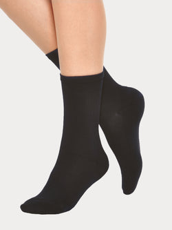 Vogue Cotton Basic Sock, 5-pack