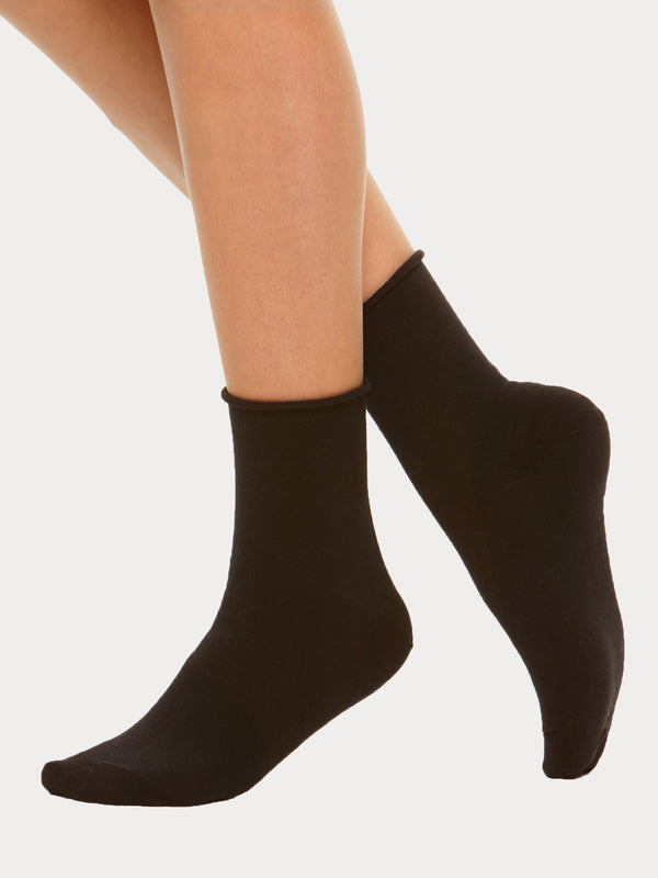 Vogue Cotton Comfort Socks, 2-pack