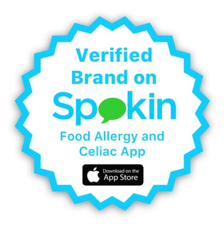 verified brand, spokin, food allergy app, celiac app, celiac, food allergies, safely delicious