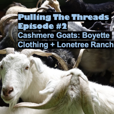 We're Featured In Pulling The Threads Podcast!