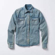 Load image into Gallery viewer, The Cody Denim Work Shirt