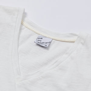 The Joey Pocket Tee - White