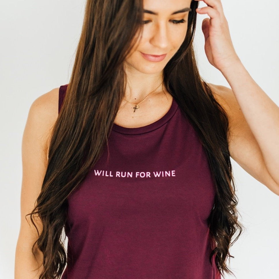 Will Run For Wine Tank