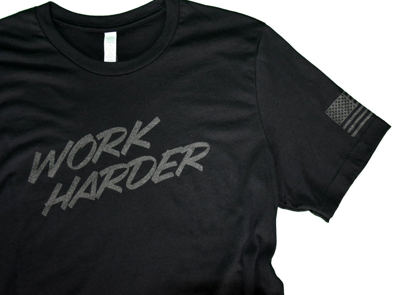 Work Harder Subdued Tee