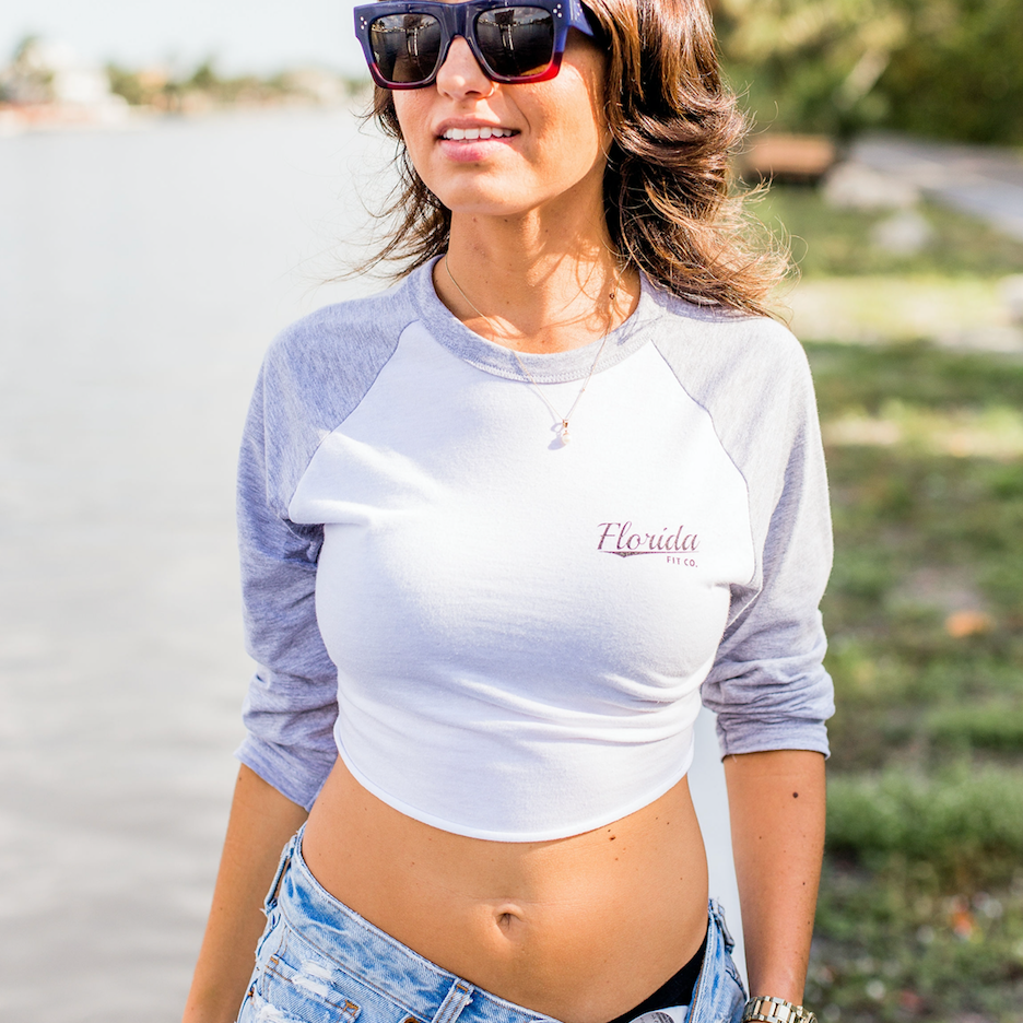 """Classic"" Florida Fit Co. Baseball Crop"