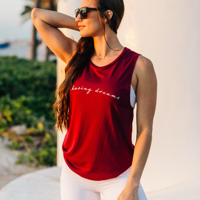 Chasing Dreams Muscle Tank (More Colors)
